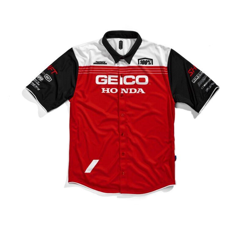 100% Geico Honda Blitz Pit Shirt