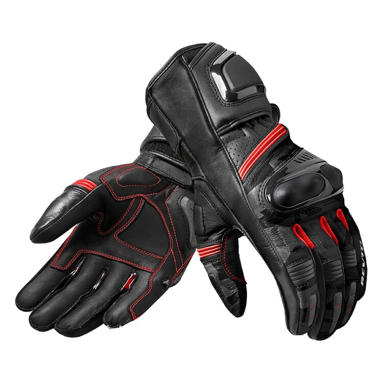 Motorcycle Gloves REV/'IT CHICANE BLACK//RED size L