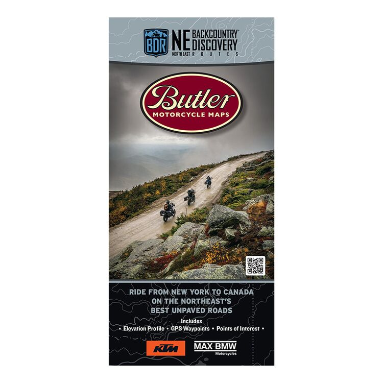 Butler Maps Northeast Backcountry Discovery Route
