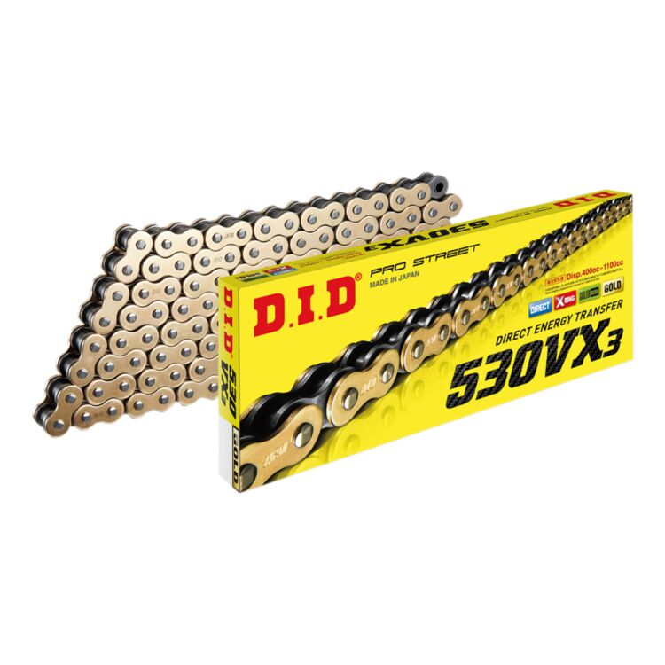 DID 530VX-106 X-Ring Chain with Connecting Link