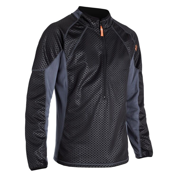 Freeze out warm 39 r long sleeve shirt black grey xl open - Black and grey house ...