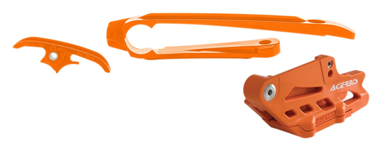 Acerbis Chain Guide Slider Kit KTM EXC-F 350 2017 2018 2019 2020 Orange