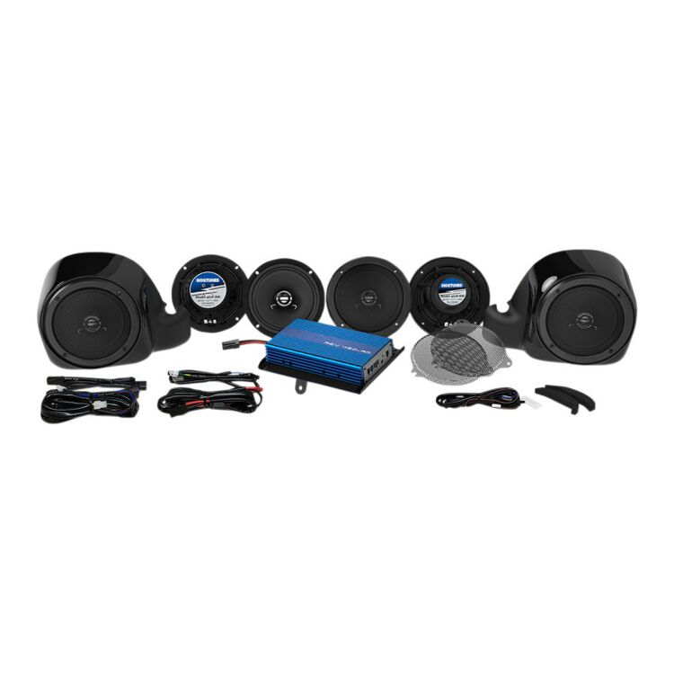 Hogtunes G4 6 Speaker And Amp Kit For Harley 2014-2020