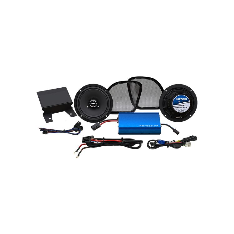 Hogtunes G4 REV Speaker And Amp Kit For Harley Road Glide 2015-2021
