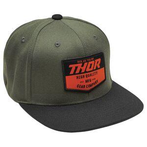 Black Thor Hallman Traditions Motocross MX Bike Hat Cap