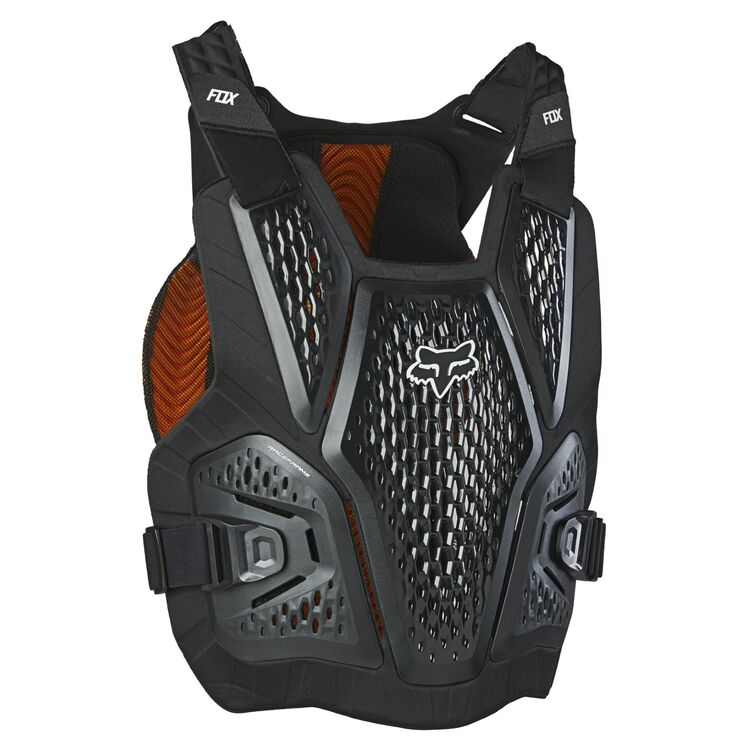 Fox 2020 Raceframe Impact Chest Protector//Roost Guard Black All Sizes