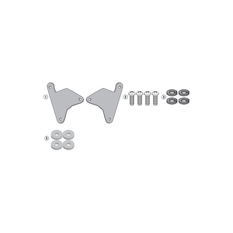 w/ Install Kit For Side Case Racks Only