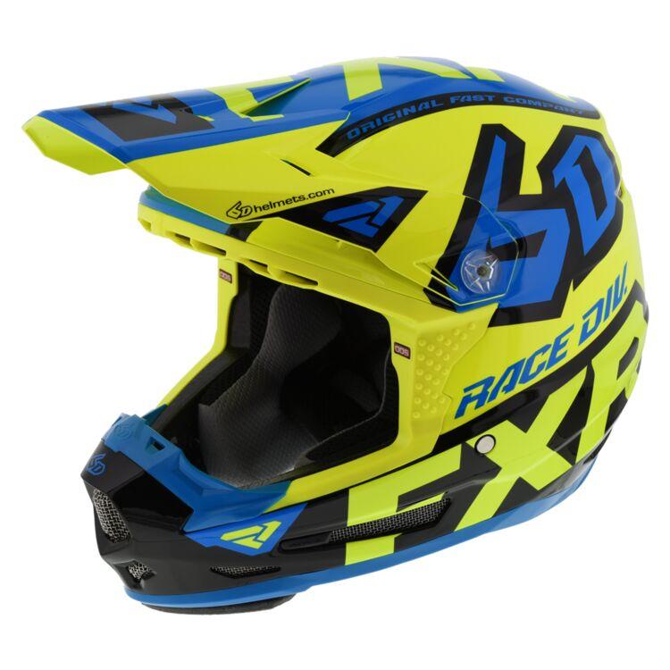 Hi-Viz Yellow/Blue/Black