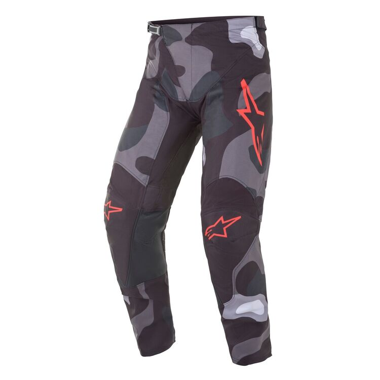 Grey Camo/Red