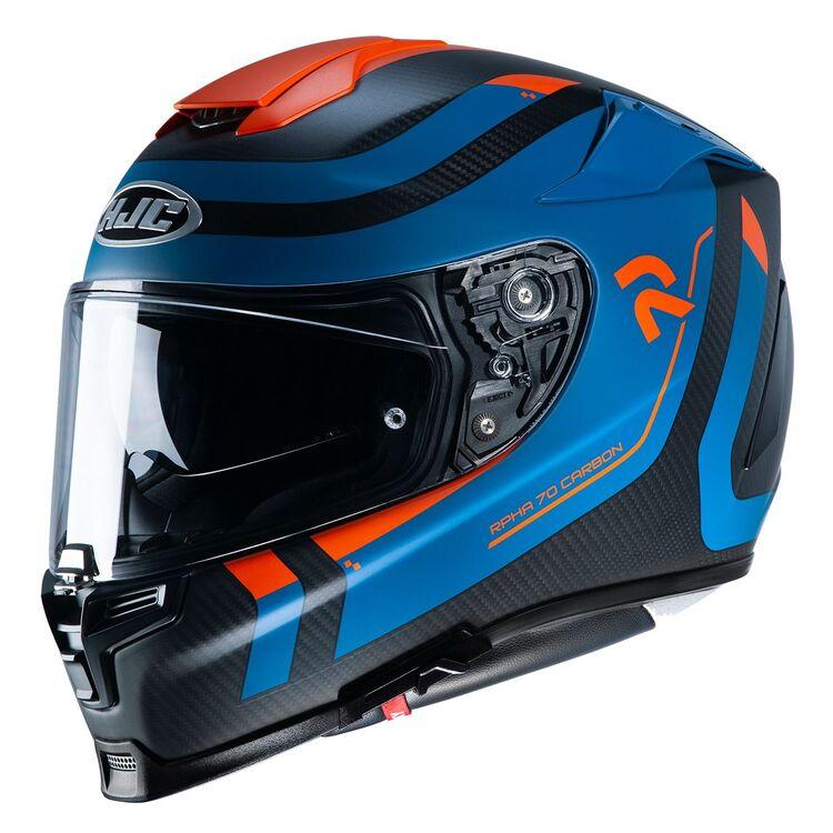 Carbon/Blue/Orange