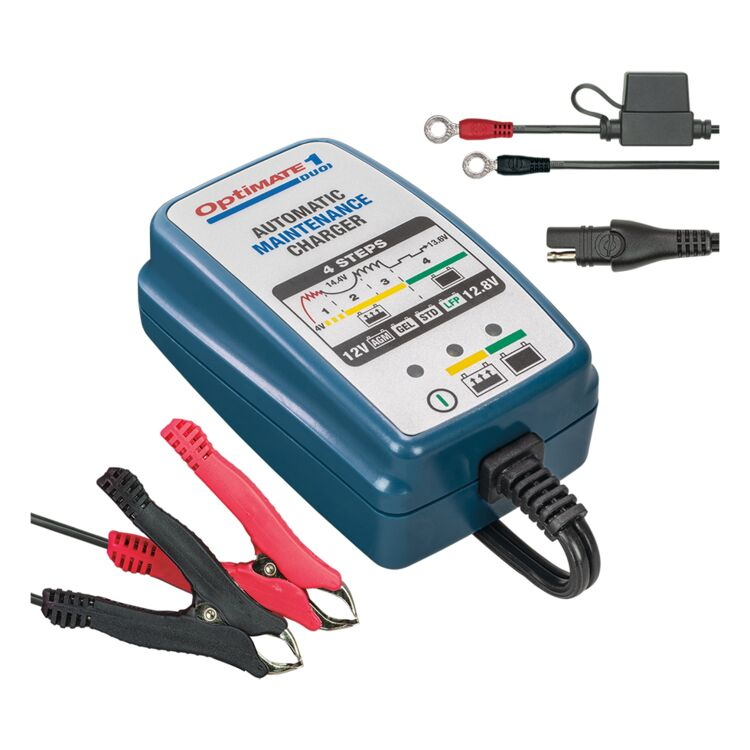 TecMate OptiMate 1 Duo Battery Charger