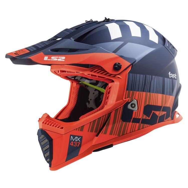 Yth V1 Yorr Helmet Ece Blue//Red