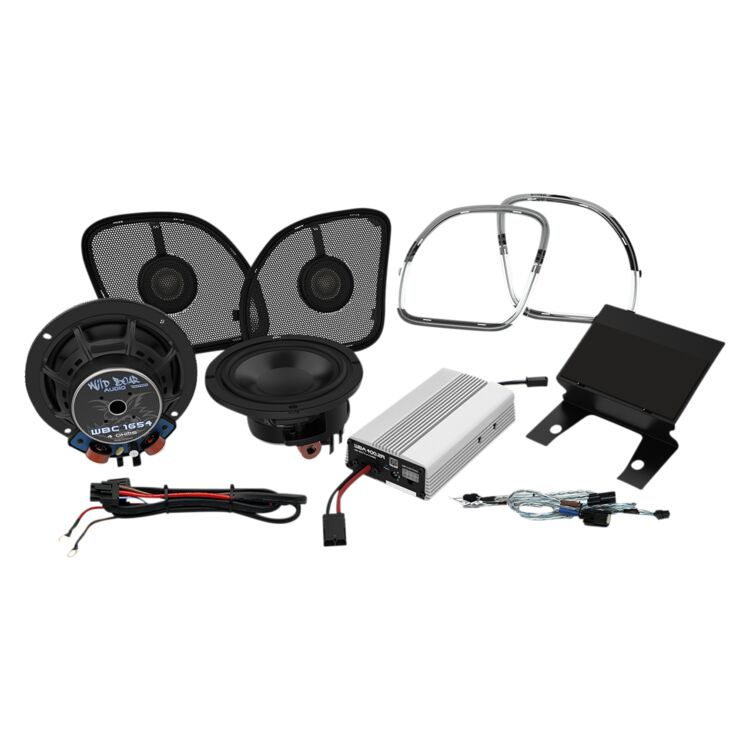 "Wild Boar By Hogtunes 6.5"" Speakers & 400 Watt Amp Kit For Harley Road Glide 2015-2020"