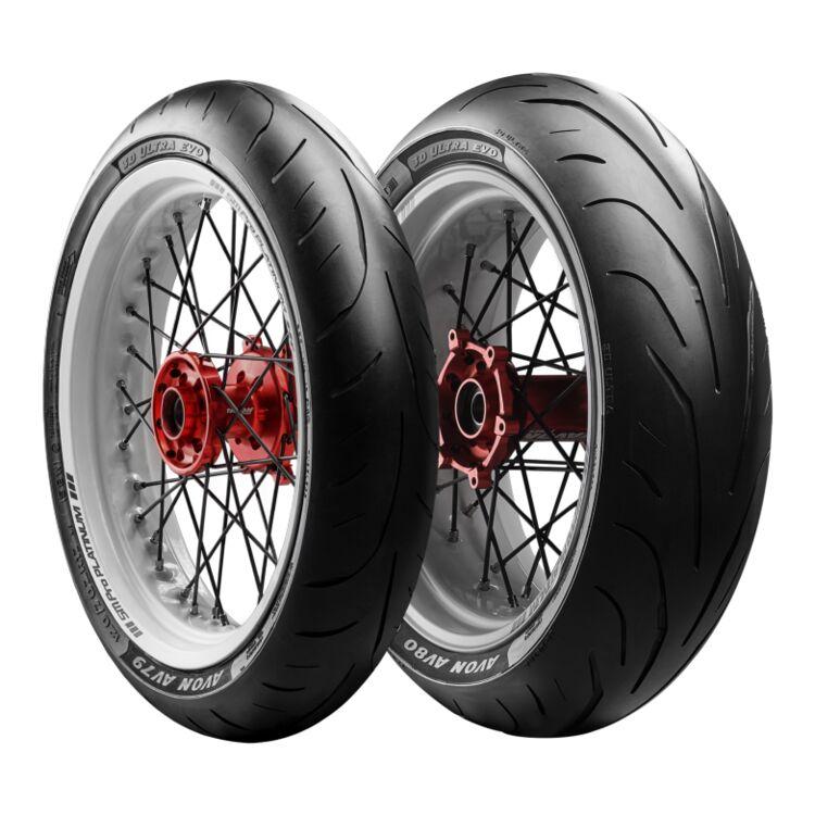 Avon AV79 / AV80 3D Ultra Evo Tires