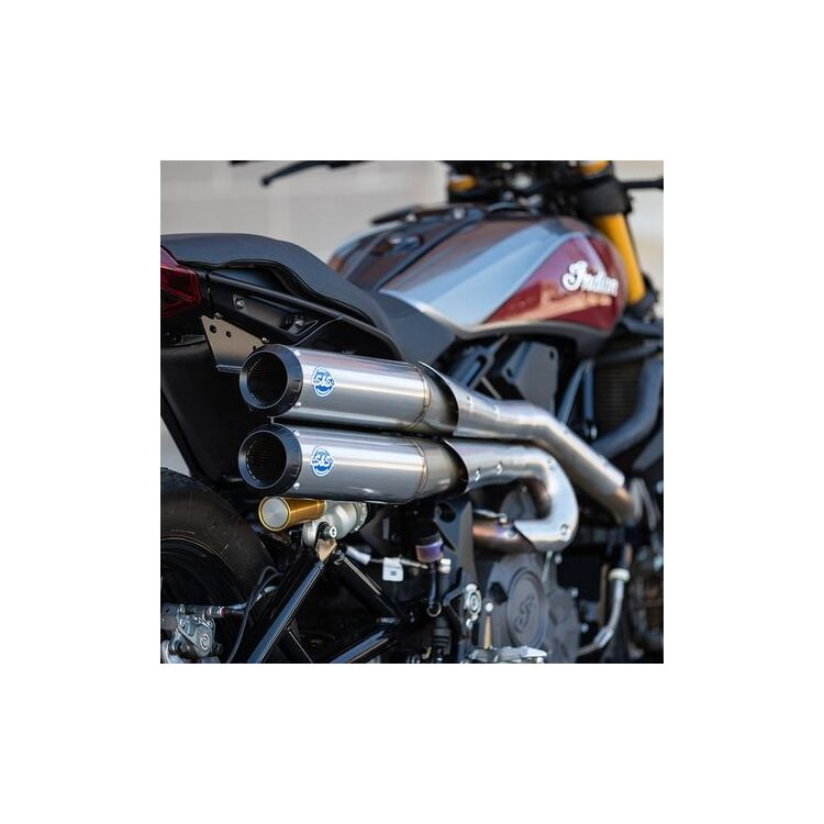 S&S Grand National 2:2 50 State Exhaust System For Indian FTR 1200