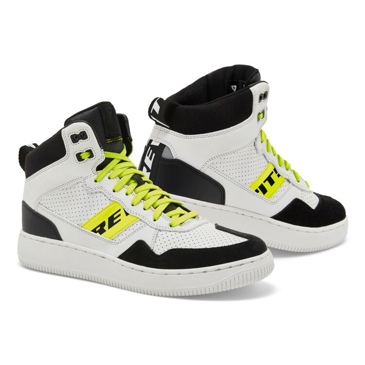 White/Hi-Viz Yellow