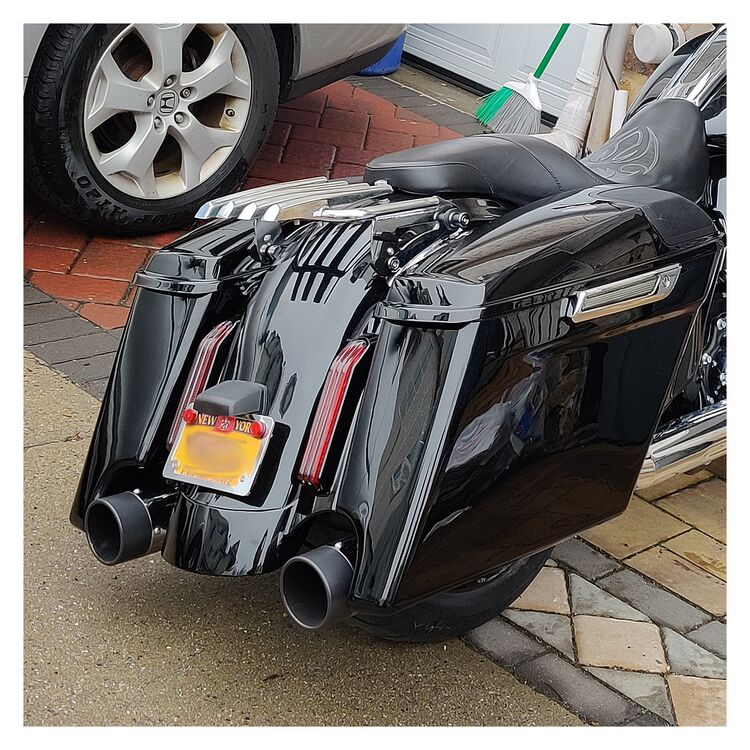 HogWorkz Stretched Rear Fender System For Harley Touring 2014-2021