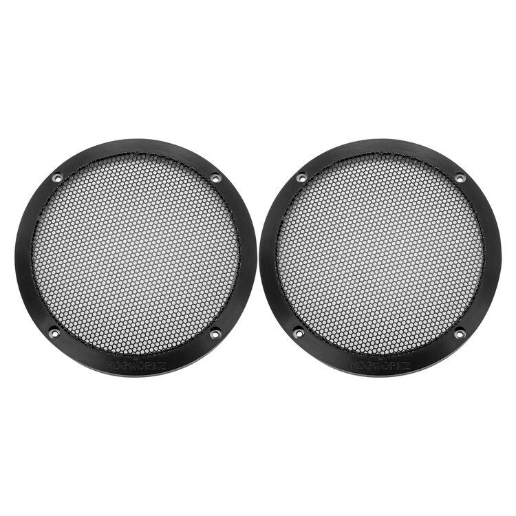 """HogWorkz 6.5"""" Speaker Grills For Vented Lower Fairing For Harley Touring 2014-2021"""