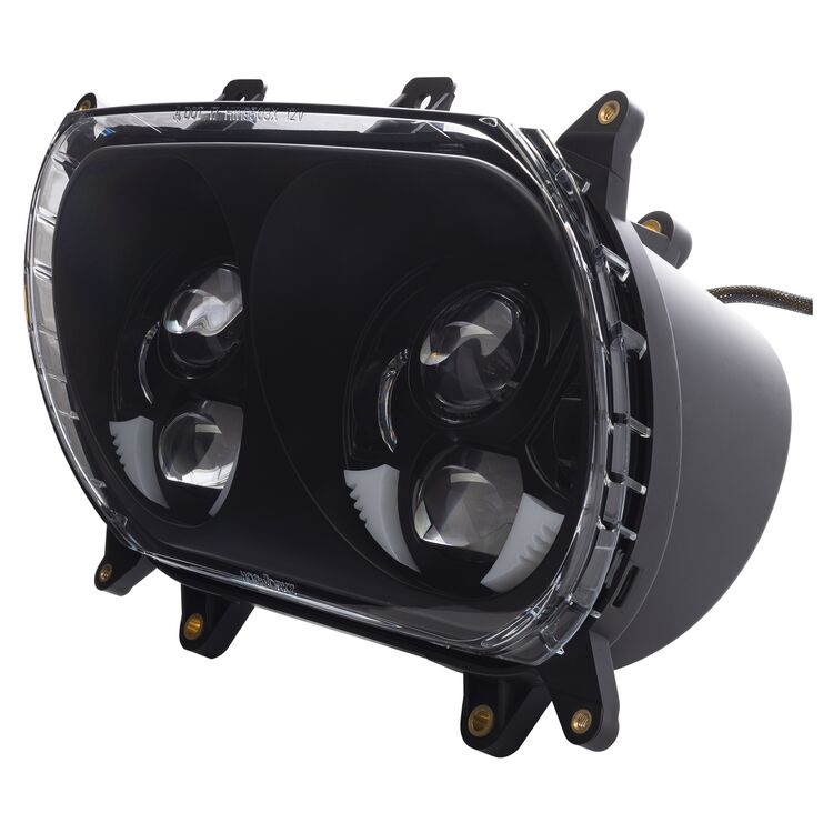 HogWorkz Dual Visionz Led Headlight For Harley Road Glide 2015-2021