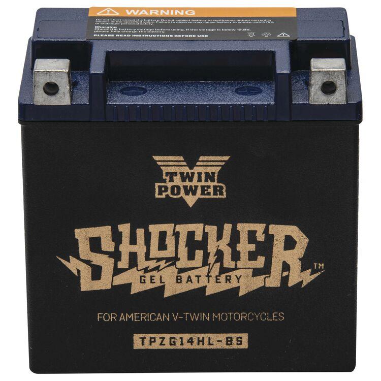 Twin Power Shocker Gel Battery TPZG14HL-BS
