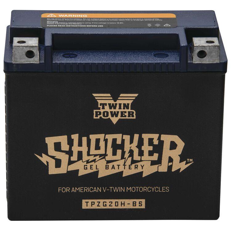 Twin Power Shocker Gel Battery TPZG20H-BS