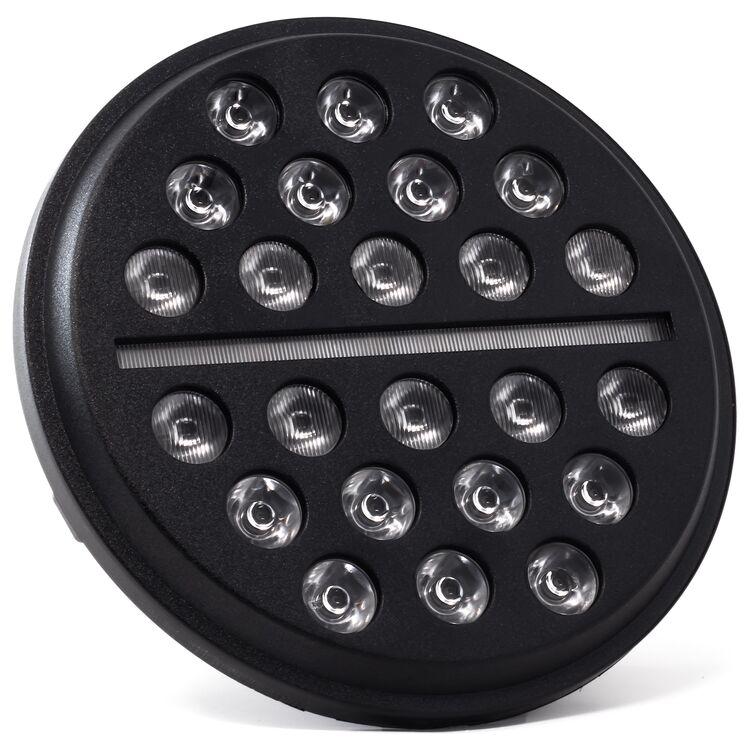 """Letric Lighting Co. 7"""" LED Buck-Shot Mini-Multi Headlamp For Harley 1994-2021"""
