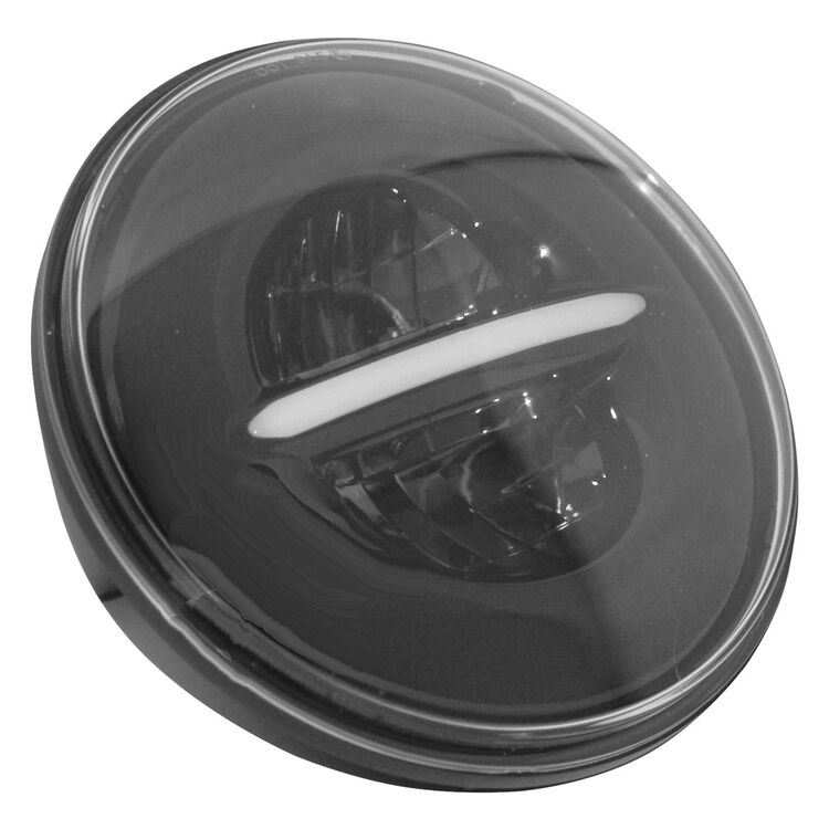 """Letric Lighting Co. 7"""" LED Cyclops Division Narrow-Beam Headlamp For Harley 1994-2021"""