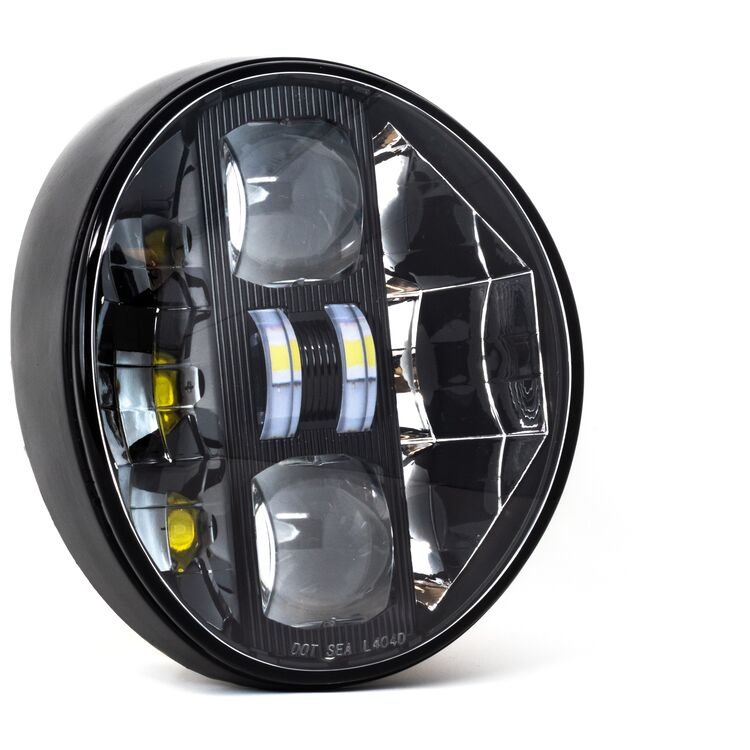 Letric Lighting Co. LED Headlamp For Harley Softail Breakout 2018-2020