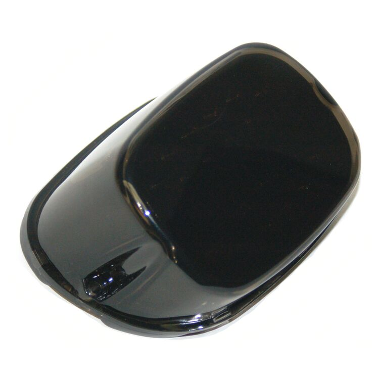 Letric Lighting Co. Squareback LED Taillight w/ Black Base & Integrated T/S For Harley 1999-2021