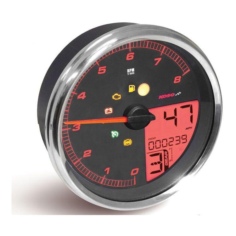 Koso HD-05 Multi-Function Tachometer/Speedometer For Harley 2004-2013
