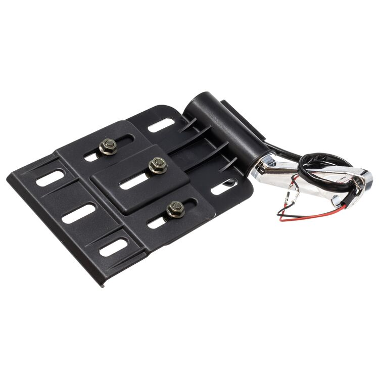 Letric Lighting Co. Foldable Side Tag Mount For Harley Sportster / Dyna & Custom Applications