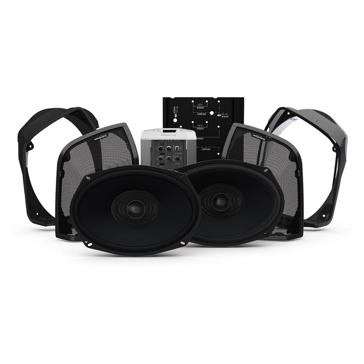 Rockford Fosgate Power Audio Kit Stage 2 For Harley Road King 2014-2021