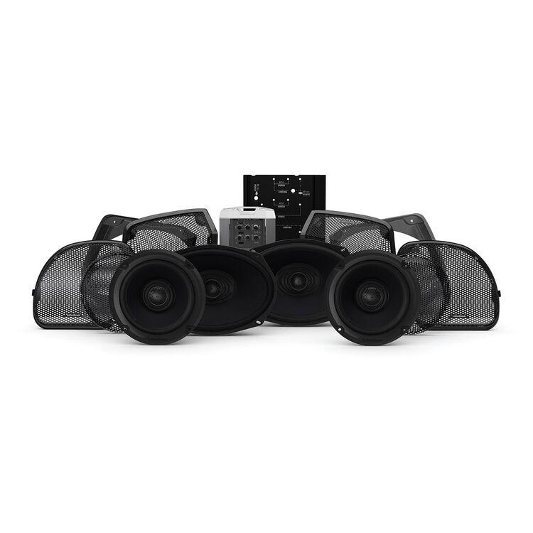 Rockford Fosgate Power Audio Kit Stage 3 For Harley Road Glide / Street Glide 2014-2021