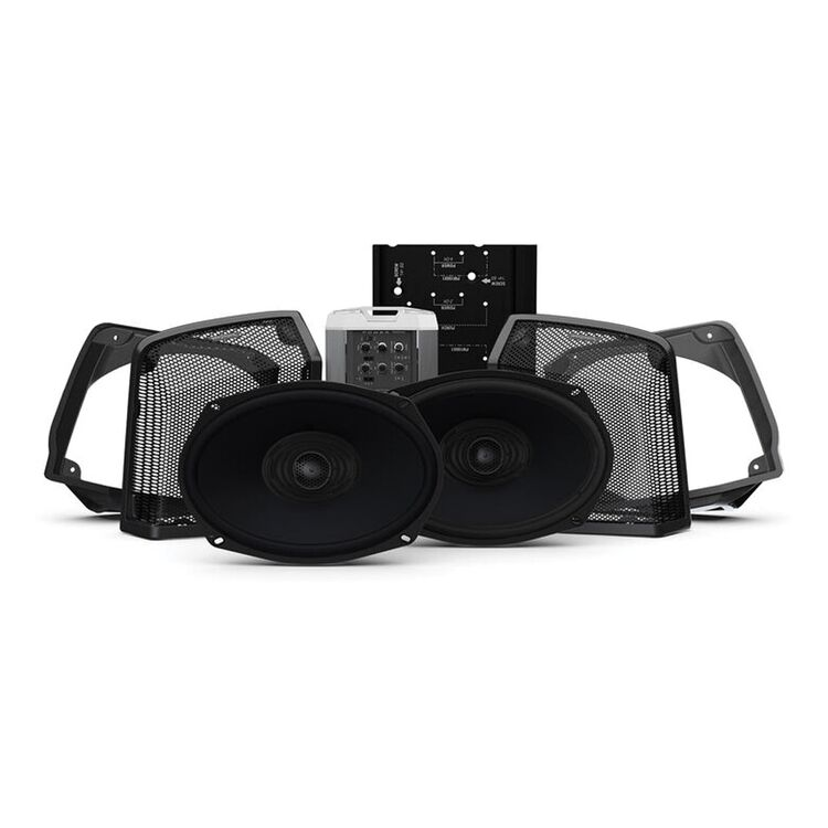 Rockford Fosgate Power Audio Kit Stage 2 For Harley Road King 1998-2013