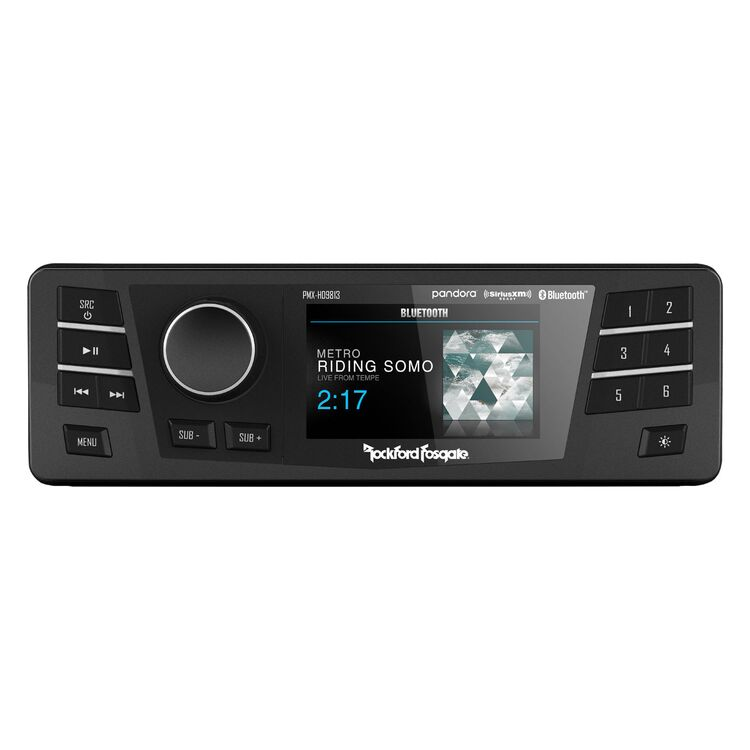 Rockford Fosgate PMX Factory Replacement Radio For Harley 1998-2013