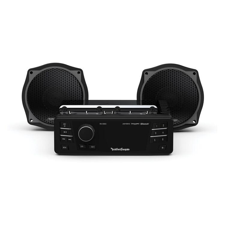 Rockford Fosgate Stage 1 Audio System For Harley FLHT / FLHX 1998-2013