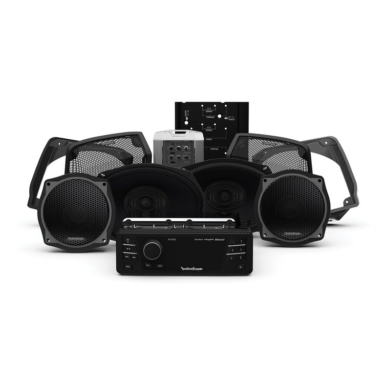 Rockford Fosgate Stage 3 Audio System For Harley FLHT / FLHX 1998-2013