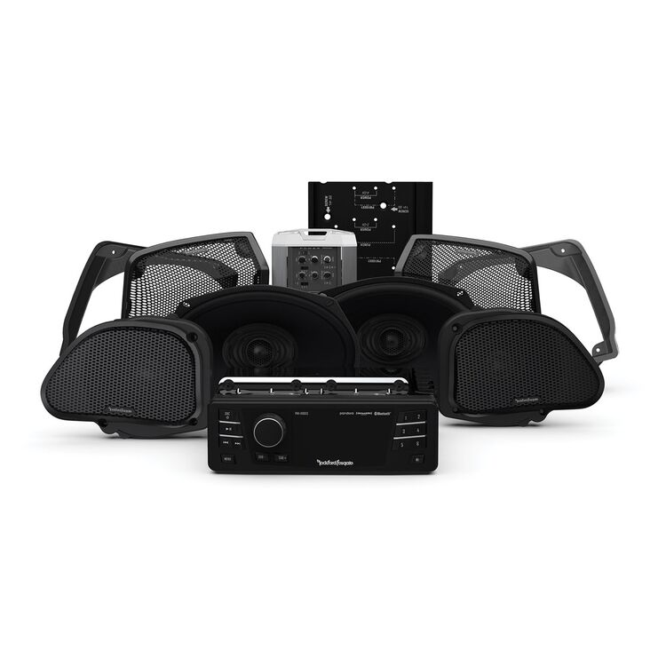 Rockford Fosgate Stage 3 Audio System For Harley