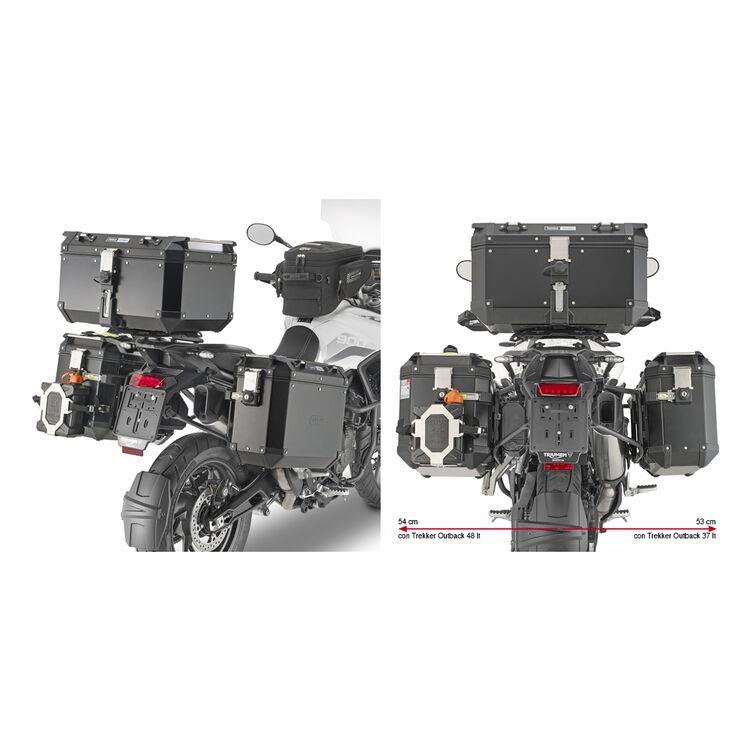 Givi PLO6415CAM Side Case Racks For Trekker Outback Side Cases Triumph Tiger 900 / GT / Rally