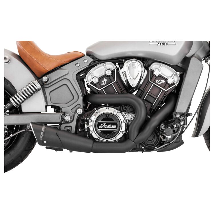 Freedom Performance Exhaust Combat 2-into-1 Shorty Exhaust For Indian Scout 2015-2021
