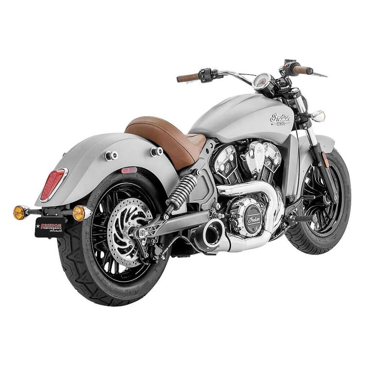 Freedom Performance Exhaust Turnout 2-into-1 Exhaust For Indian Scout 2015-2021