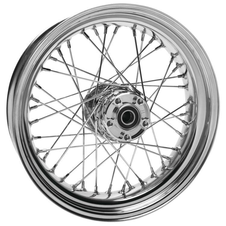 "Biker's Choice 40 Spoke 17"" X 4.5"" Rear Wheel For Harley Dyna 2008-2017"