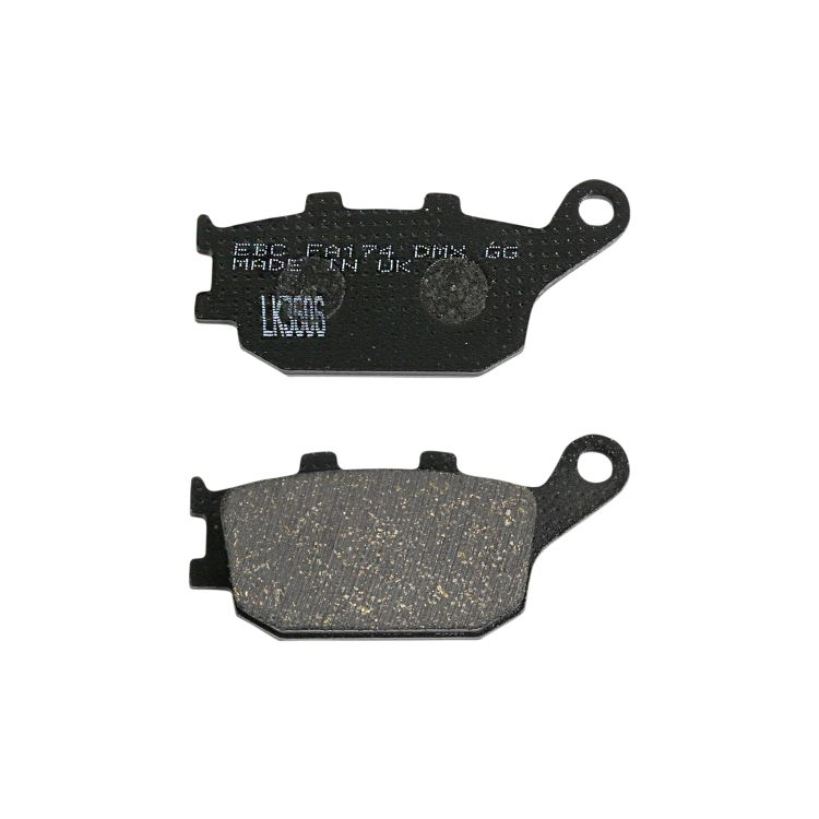 EBC Organic Front and Rear Brake Pads