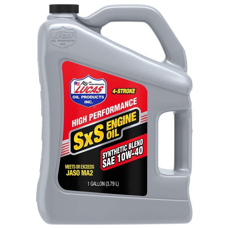 Lucas SxS Semi-Synthetic Engine Oil