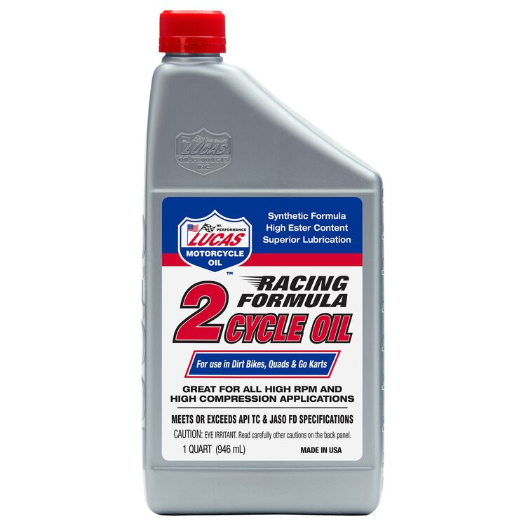 Lucas Racing Synthetic 2-Cycle Oil