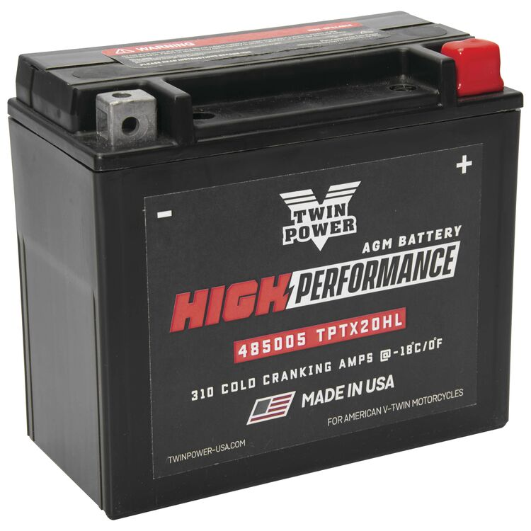 Twin Power High Performance Factory Activated AGM Battery For Harley Softail / Dyna / V-Rod / XL 1991-2021
