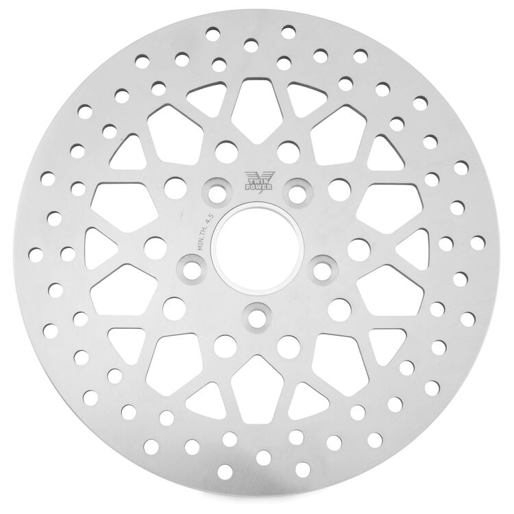 Twin Power Solid Mesh Rear Rotor For Harley