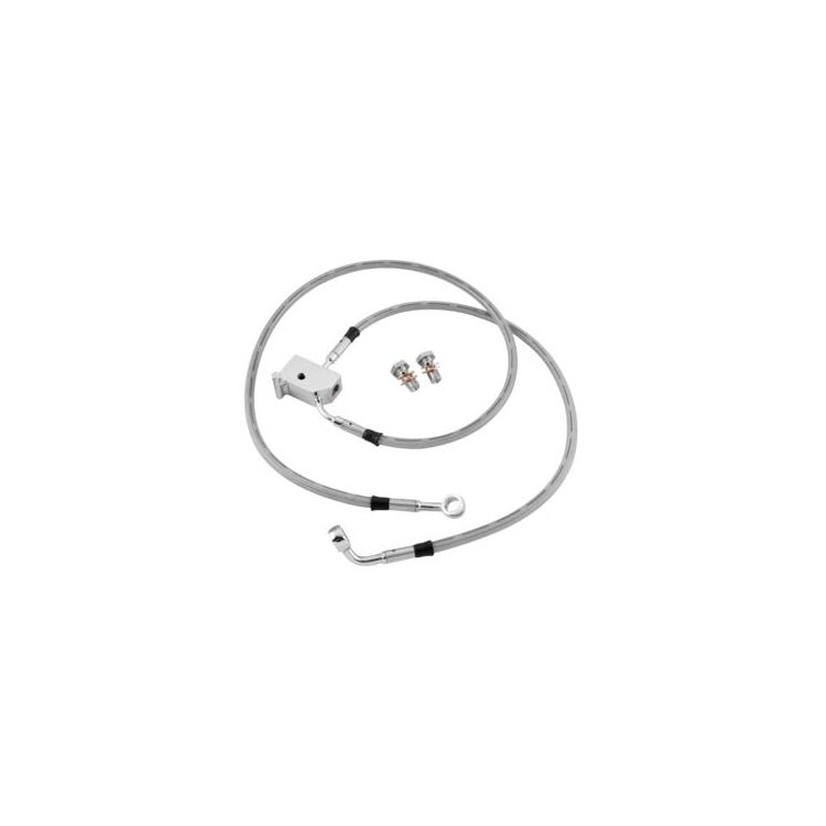 Twin Power Rear DOT Brake Line Kit For Harley Sportster 1987-2003