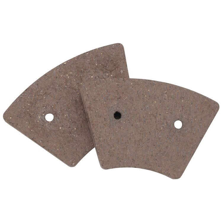 Twin Power Organic Front Brake Pads For Harley XL / FX 1973-1977