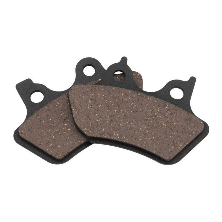 Twin Power Organic Front / Rear Brake Pads For Harley